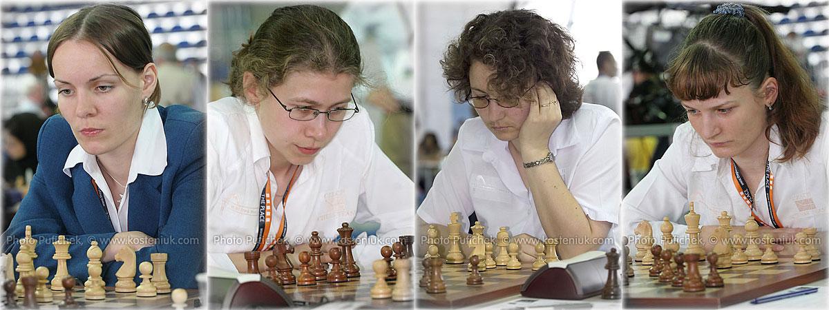Czech Las mujeres también juegan al ajedrez