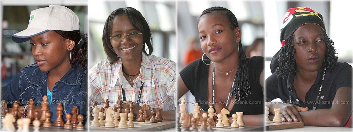 angola Las mujeres también juegan al ajedrez