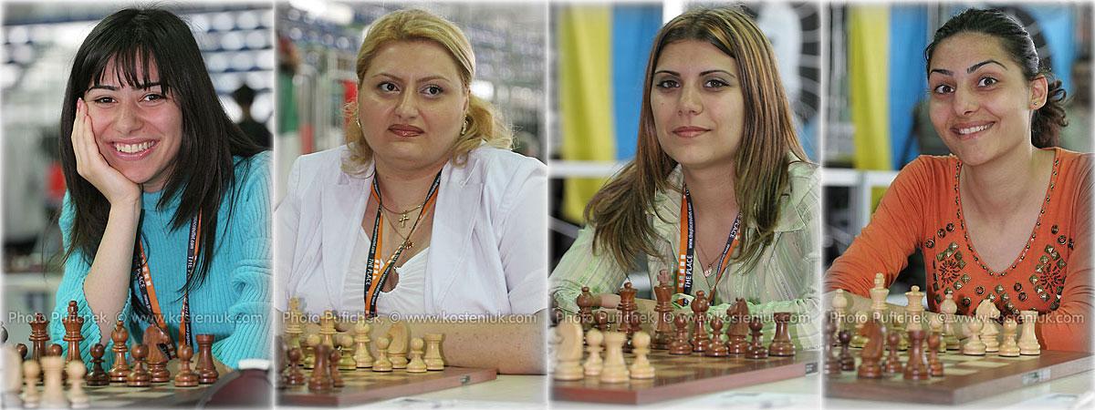 armenia Las mujeres también juegan al ajedrez