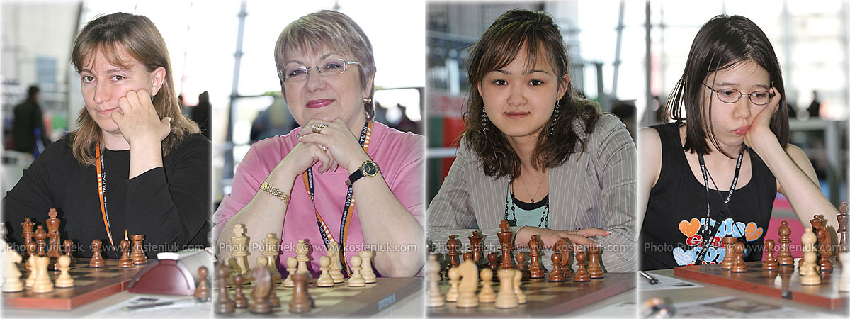 canada Las mujeres también juegan al ajedrez