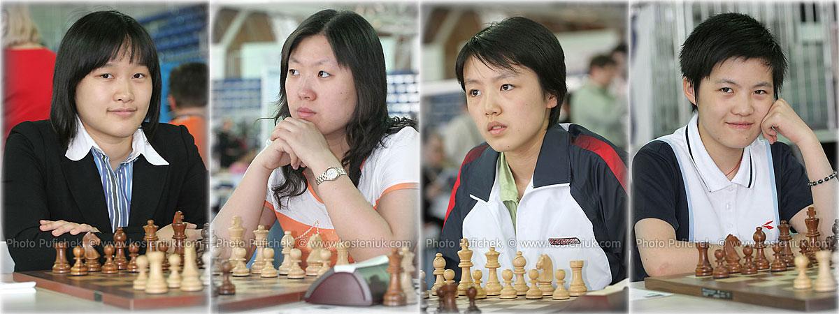 china Las mujeres también juegan al ajedrez