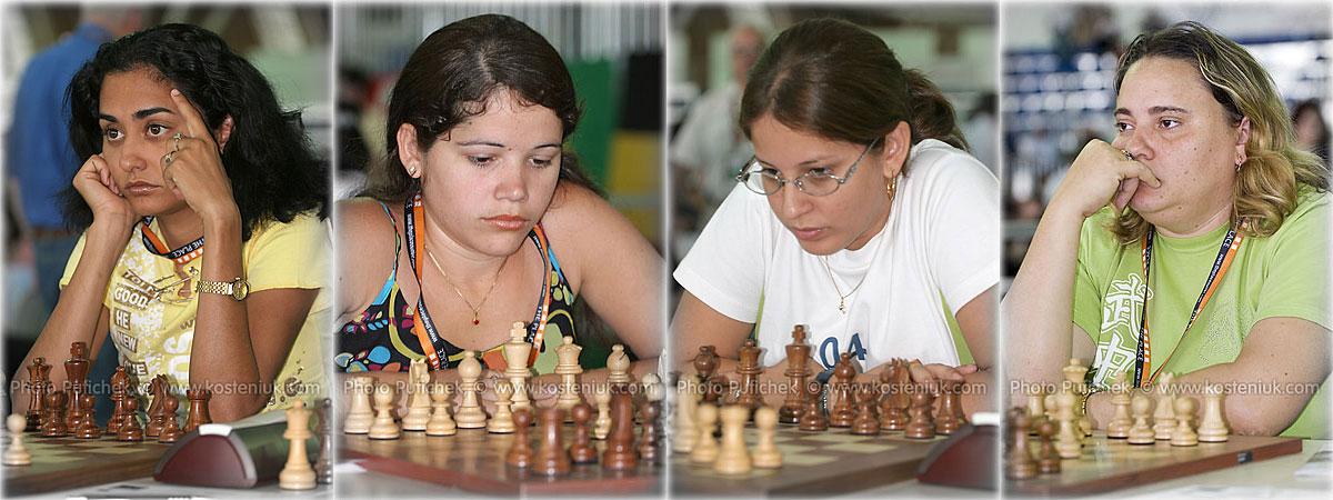 cuba Las mujeres también juegan al ajedrez