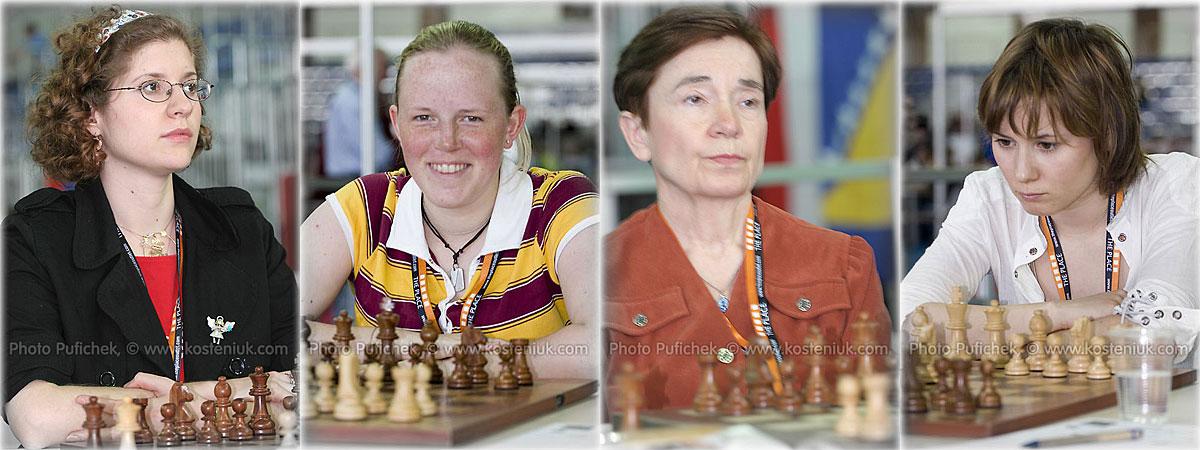 england Las mujeres también juegan al ajedrez