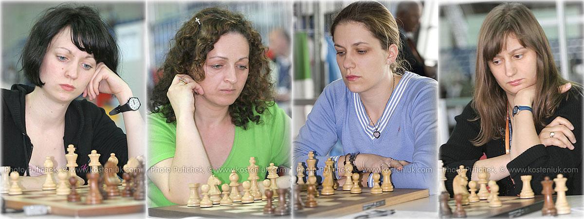 germany Las mujeres también juegan al ajedrez