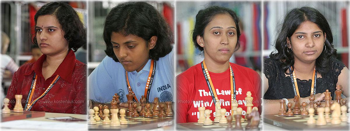 india Las mujeres también juegan al ajedrez