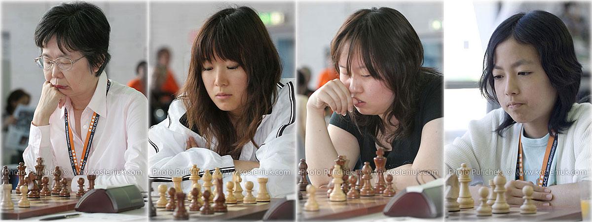 japan Las mujeres también juegan al ajedrez