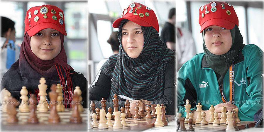 libya Las mujeres también juegan al ajedrez