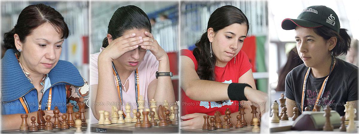 mexico Las mujeres también juegan al ajedrez