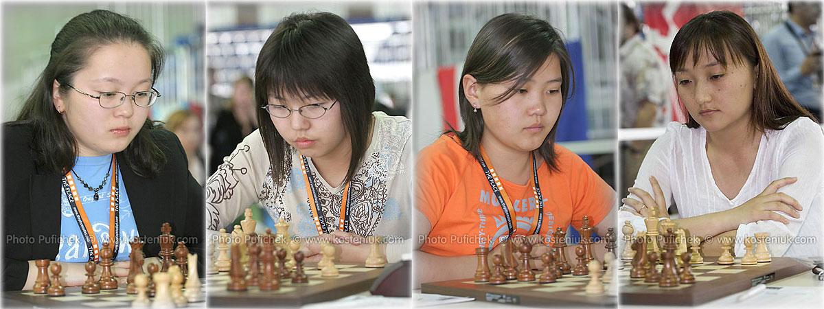 mongolia Las mujeres también juegan al ajedrez