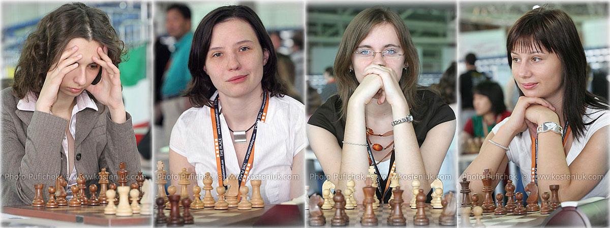 poland Las mujeres también juegan al ajedrez
