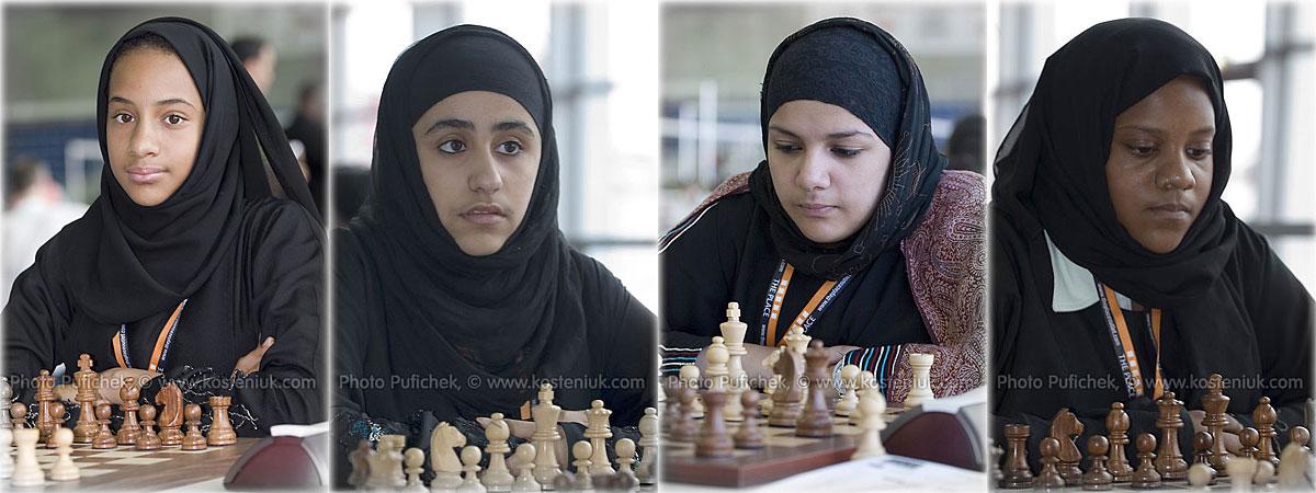 qatar Las mujeres también juegan al ajedrez