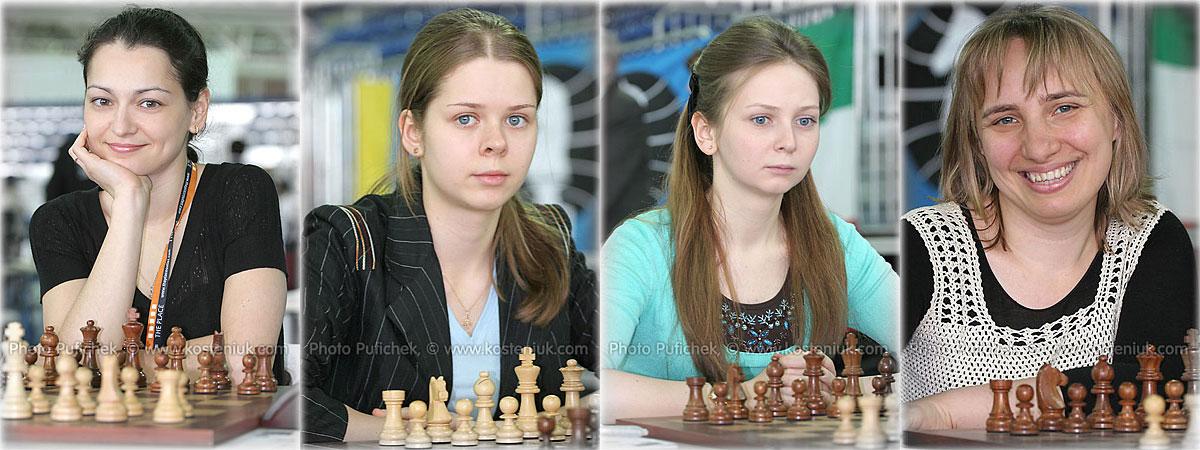russia Las mujeres también juegan al ajedrez