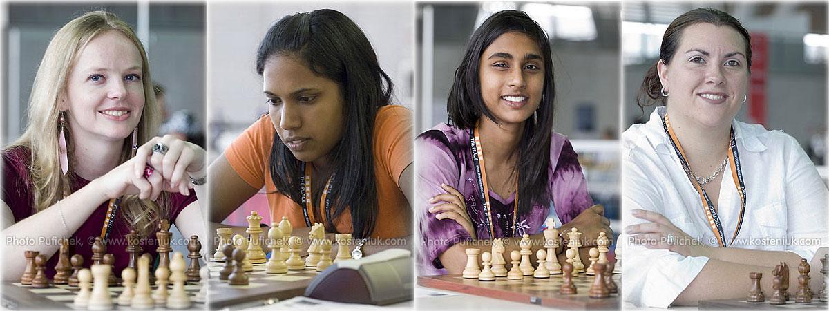 southafrica Las mujeres también juegan al ajedrez