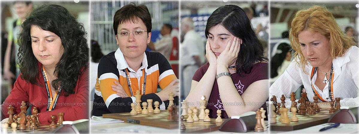 spain Las mujeres también juegan al ajedrez